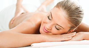 Stress Relief Back Massage and foot soak-min