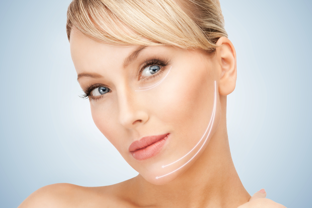 picture of beautiful woman ready for Rf Skin Tightening
