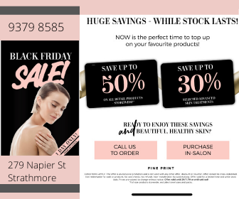 1 Day only Black Friday Sale O Cosmedics, DMK and more. Up to 50% off!